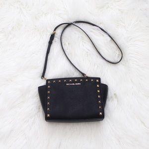 Michael Kors Selma Studded Crossbody Bag